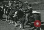 Image of Young children riding horses Kansas City Missouri USA, 1934, second 22 stock footage video 65675022443