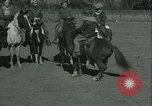 Image of Young children riding horses Kansas City Missouri USA, 1934, second 26 stock footage video 65675022443