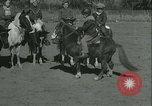 Image of Young children riding horses Kansas City Missouri USA, 1934, second 31 stock footage video 65675022443