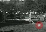 Image of Young children riding horses Kansas City Missouri USA, 1934, second 56 stock footage video 65675022443