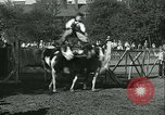 Image of Young children riding horses Kansas City Missouri USA, 1934, second 57 stock footage video 65675022443