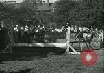 Image of Young children riding horses Kansas City Missouri USA, 1934, second 59 stock footage video 65675022443