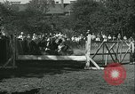Image of Young children riding horses Kansas City Missouri USA, 1934, second 60 stock footage video 65675022443