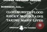 Image of Floods and cyclone Koro Japan, 1933, second 5 stock footage video 65675022445