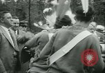 Image of President Roosevelt with Boy Scouts Ten Mile River New York USA, 1933, second 20 stock footage video 65675022453