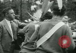 Image of President Roosevelt with Boy Scouts Ten Mile River New York USA, 1933, second 21 stock footage video 65675022453