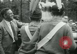 Image of President Roosevelt with Boy Scouts Ten Mile River New York USA, 1933, second 24 stock footage video 65675022453