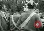 Image of President Roosevelt with Boy Scouts Ten Mile River New York USA, 1933, second 25 stock footage video 65675022453