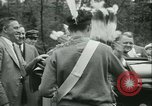 Image of President Roosevelt with Boy Scouts Ten Mile River New York USA, 1933, second 27 stock footage video 65675022453