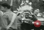 Image of President Roosevelt with Boy Scouts Ten Mile River New York USA, 1933, second 29 stock footage video 65675022453