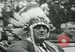 Image of President Roosevelt with Boy Scouts Ten Mile River New York USA, 1933, second 47 stock footage video 65675022453