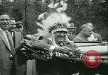 Image of President Roosevelt with Boy Scouts Ten Mile River New York USA, 1933, second 51 stock footage video 65675022453