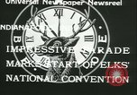 Image of Elks National Convention Indianapolis Indiana USA, 1933, second 2 stock footage video 65675022458