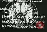 Image of Elks National Convention Indianapolis Indiana USA, 1933, second 8 stock footage video 65675022458