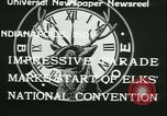 Image of Elks National Convention Indianapolis Indiana USA, 1933, second 11 stock footage video 65675022458