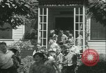 Image of Fresh Air Camp summer camp for poor children Sylvan Lake Michigan USA, 1933, second 13 stock footage video 65675022459