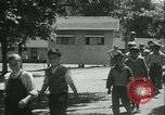 Image of Fresh Air Camp summer camp for poor children Sylvan Lake Michigan USA, 1933, second 28 stock footage video 65675022459
