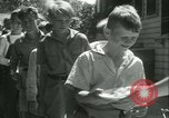 Image of Fresh Air Camp summer camp for poor children Sylvan Lake Michigan USA, 1933, second 31 stock footage video 65675022459