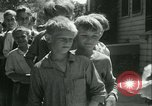 Image of Fresh Air Camp summer camp for poor children Sylvan Lake Michigan USA, 1933, second 37 stock footage video 65675022459