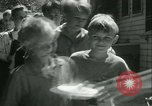 Image of Fresh Air Camp summer camp for poor children Sylvan Lake Michigan USA, 1933, second 39 stock footage video 65675022459