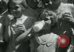 Image of Fresh Air Camp summer camp for poor children Sylvan Lake Michigan USA, 1933, second 47 stock footage video 65675022459