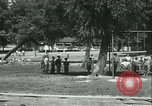 Image of Fresh Air Camp summer camp for poor children Sylvan Lake Michigan USA, 1933, second 54 stock footage video 65675022459