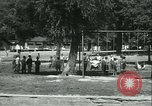 Image of Fresh Air Camp summer camp for poor children Sylvan Lake Michigan USA, 1933, second 58 stock footage video 65675022459