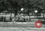 Image of Fresh Air Camp summer camp for poor children Sylvan Lake Michigan USA, 1933, second 61 stock footage video 65675022459