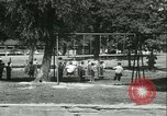 Image of Fresh Air Camp summer camp for poor children Sylvan Lake Michigan USA, 1933, second 62 stock footage video 65675022459
