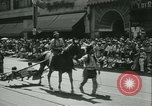 Image of celebration of city's 150th birthday Los Angeles California USA, 1931, second 28 stock footage video 65675022461