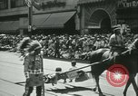 Image of celebration of city's 150th birthday Los Angeles California USA, 1931, second 31 stock footage video 65675022461