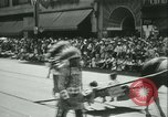 Image of celebration of city's 150th birthday Los Angeles California USA, 1931, second 32 stock footage video 65675022461