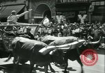 Image of celebration of city's 150th birthday Los Angeles California USA, 1931, second 36 stock footage video 65675022461