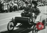 Image of celebration of city's 150th birthday Los Angeles California USA, 1931, second 57 stock footage video 65675022461