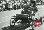 Image of celebration of city's 150th birthday Los Angeles California USA, 1931, second 58 stock footage video 65675022461