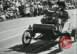 Image of celebration of city's 150th birthday Los Angeles California USA, 1931, second 59 stock footage video 65675022461