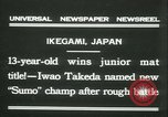 Image of Iwao Takeda Ikegami Japan, 1931, second 2 stock footage video 65675022462