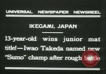 Image of Iwao Takeda Ikegami Japan, 1931, second 6 stock footage video 65675022462