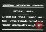 Image of Iwao Takeda Ikegami Japan, 1931, second 7 stock footage video 65675022462