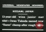 Image of Iwao Takeda Ikegami Japan, 1931, second 9 stock footage video 65675022462