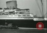 Image of Hollywood film magnate Carl Laemmle aboard the ship Europa New York City USA, 1931, second 21 stock footage video 65675022464