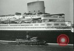 Image of Hollywood film magnate Carl Laemmle aboard the ship Europa New York City USA, 1931, second 23 stock footage video 65675022464