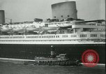 Image of Hollywood film magnate Carl Laemmle aboard the ship Europa New York City USA, 1931, second 24 stock footage video 65675022464