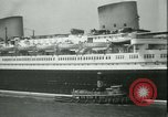Image of Hollywood film magnate Carl Laemmle aboard the ship Europa New York City USA, 1931, second 25 stock footage video 65675022464