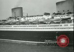 Image of Hollywood film magnate Carl Laemmle aboard the ship Europa New York City USA, 1931, second 27 stock footage video 65675022464
