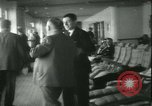 Image of Hollywood film magnate Carl Laemmle aboard the ship Europa New York City USA, 1931, second 36 stock footage video 65675022464