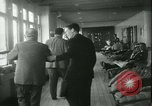 Image of Hollywood film magnate Carl Laemmle aboard the ship Europa New York City USA, 1931, second 38 stock footage video 65675022464