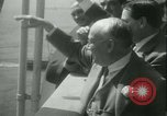 Image of Hollywood film magnate Carl Laemmle aboard the ship Europa New York City USA, 1931, second 50 stock footage video 65675022464