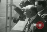 Image of Hollywood film magnate Carl Laemmle aboard the ship Europa New York City USA, 1931, second 51 stock footage video 65675022464