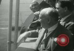 Image of Hollywood film magnate Carl Laemmle aboard the ship Europa New York City USA, 1931, second 52 stock footage video 65675022464